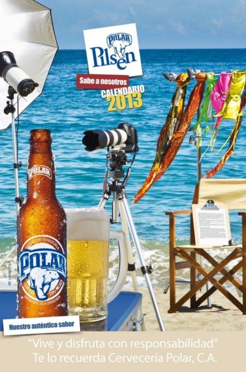 Календарь Chicas Polar Pilsen 2013 с соблазнительными красотками