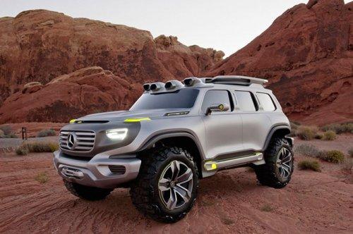 Mercedes-Benz Ener-G-Force – полицейский внедорожник будущего