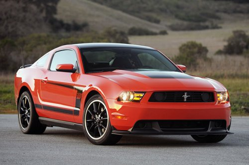 Ford Mustang Boss 302 2012-го года