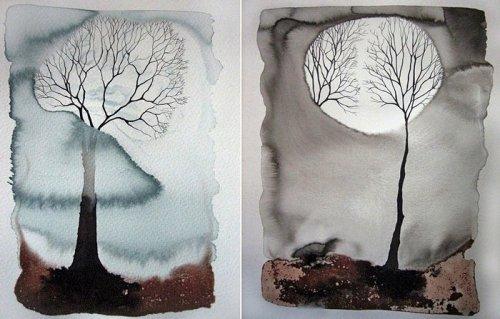 Подражание природе. Стритарт от художников Pablo S. Herrero и David de la Mano