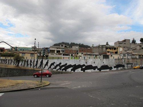Street-art работы испанского художника Sim3