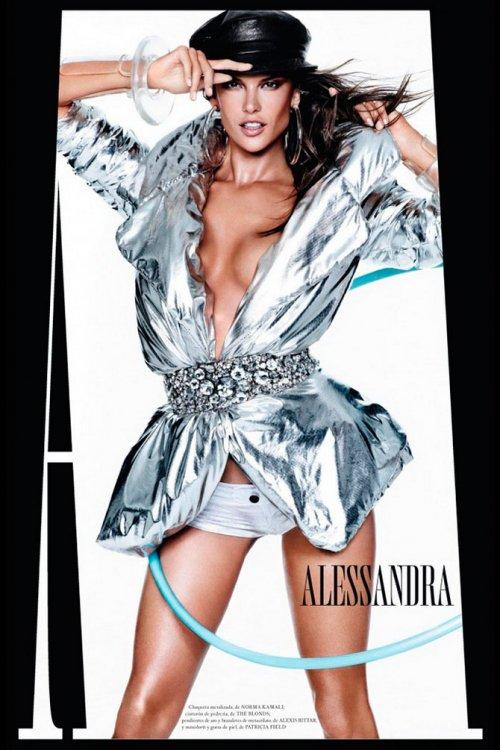 Ведущие модели мира в журнале Vogue Espana
