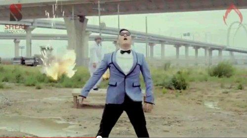 Заводной Gangnam Чида-Гоп стайл