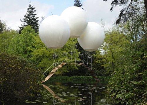 """Обезьяний мост"" в Японском саду Таттон-парка"