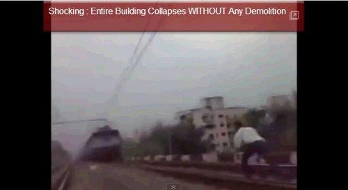 Сумасшедший индус ложится под поезд