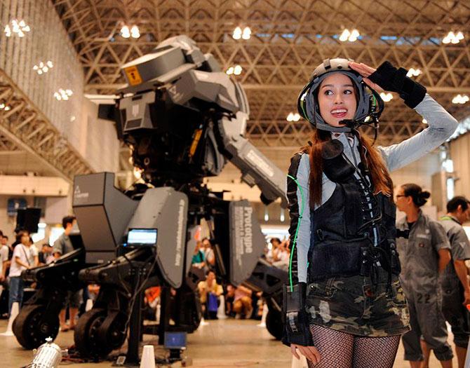 Как сделать боевого робота 124