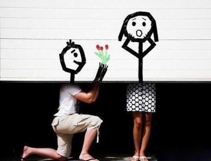 Креативные семейные фото