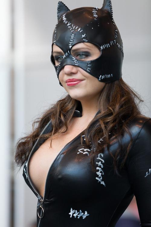 Сексуальный косплей: женщина-кошка (25 фото)