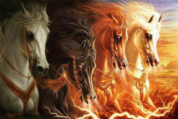 Армагеддон - война, которая близка. Пророчества старцев.