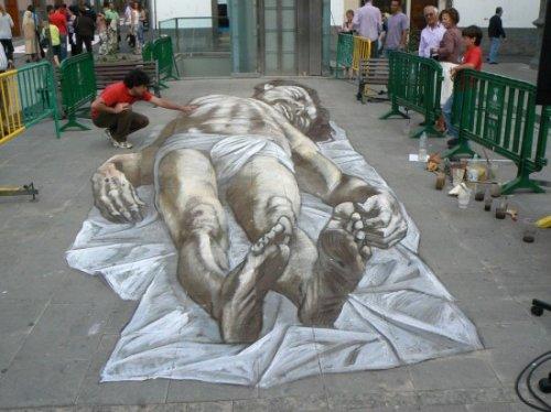 Потрясающие оптические иллюзии Эдуардо Рэлеро