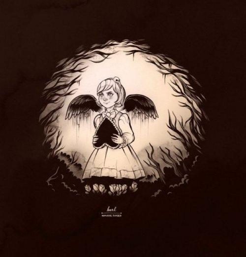 Иллюзии черепа в рисунках и фотографиях