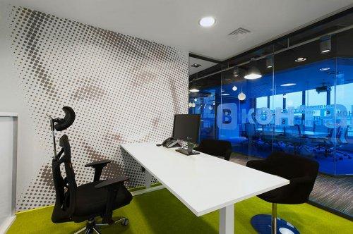 Интерьер головного офиса ВКонтакте в Санкт-Петербурге