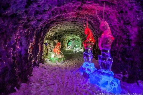 Ледяное сказочное Царство Вечной Мерзлоты