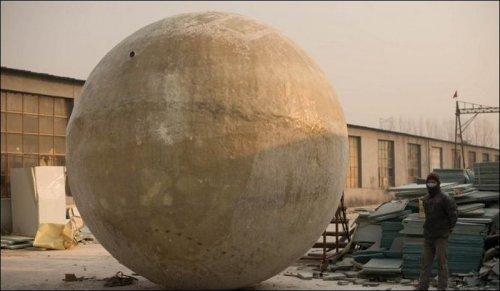 В Китае построили спасательные шары, в которых можно пережить Конец Света