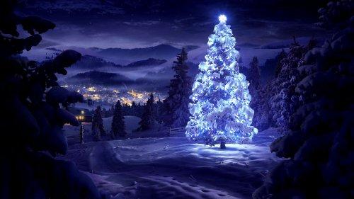 Красивые обои на рождественскую и новогоднюю тему (15 шт)