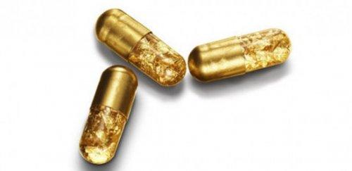 Капсулы из 24-каратного золота для любителей роскоши