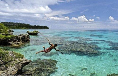 Рыбаки-акробаты с Новой Каледонии