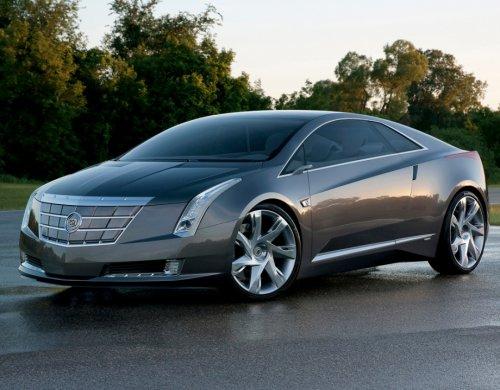 Первые фотографии Cadillac 2014 ELR (18 шт)