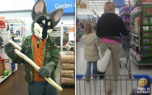Чудаки в супермаркетах (38 фото)