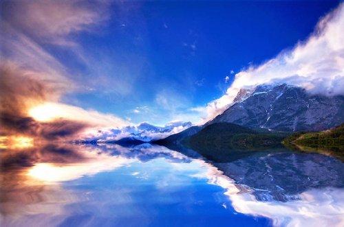 Красота фантастических пейзажей Эдгара Москоппа