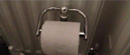 Туалетная бумага с сюрпризом