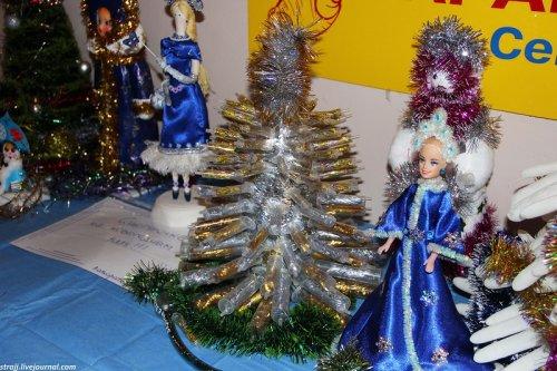 Новогодние поделки, созданные работниками севастопольского роддома