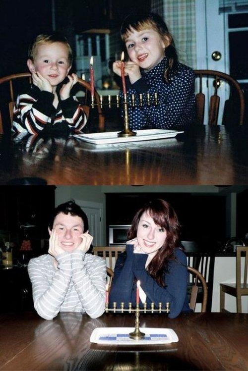 Фотографии Тогда и сейчас (22 шт)