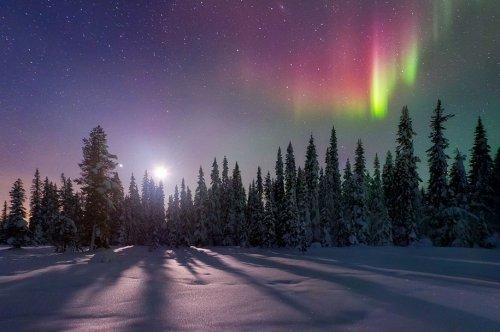 Потрясающие зимние пейзажи (21 шт)