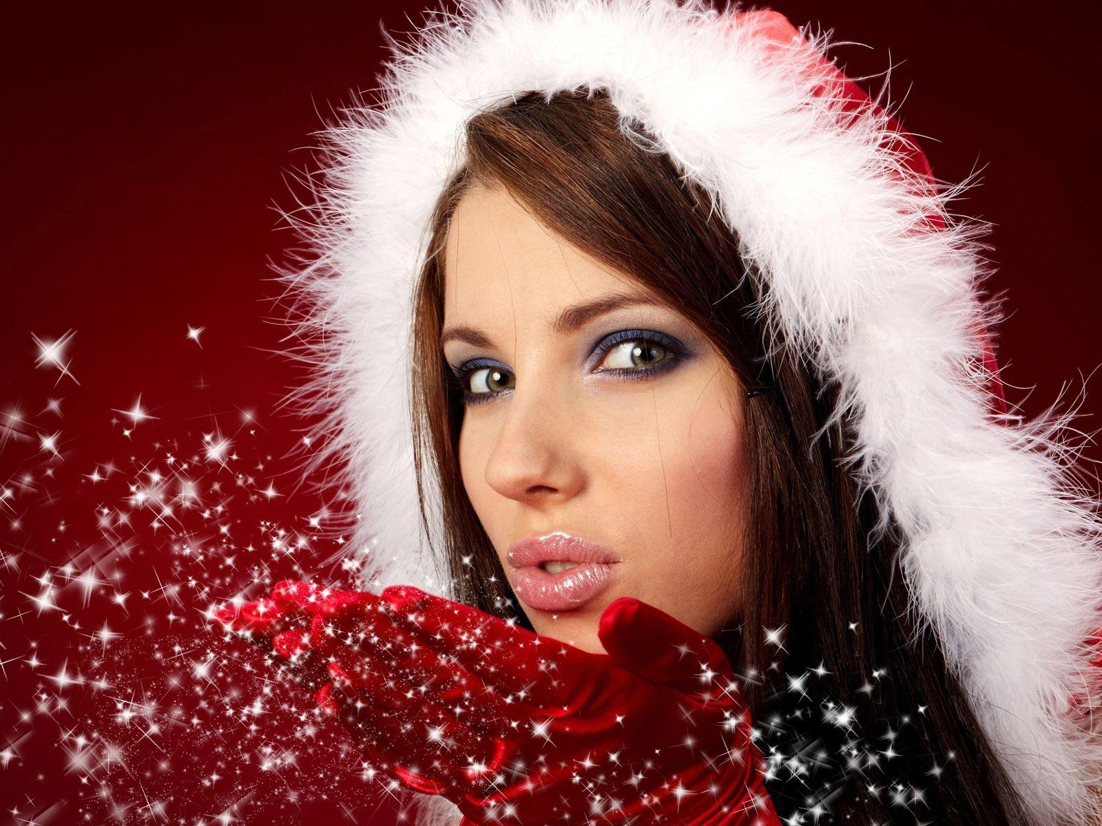 Картинки с красивыми снегурками