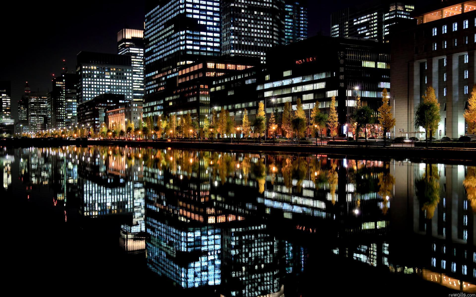Картинки ночных городов