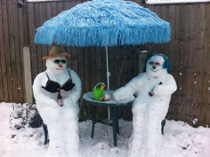 Смешные картинка про зиму, картинки