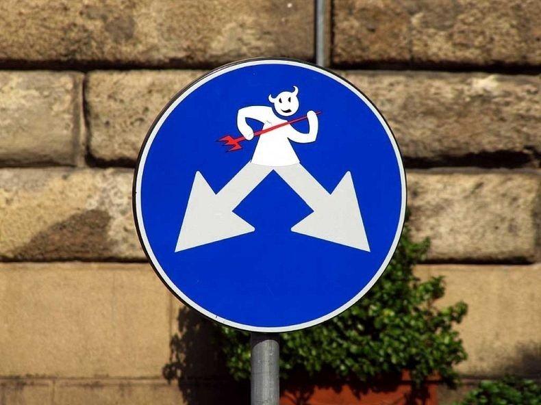 Картинки альтернативные дорожные знаки