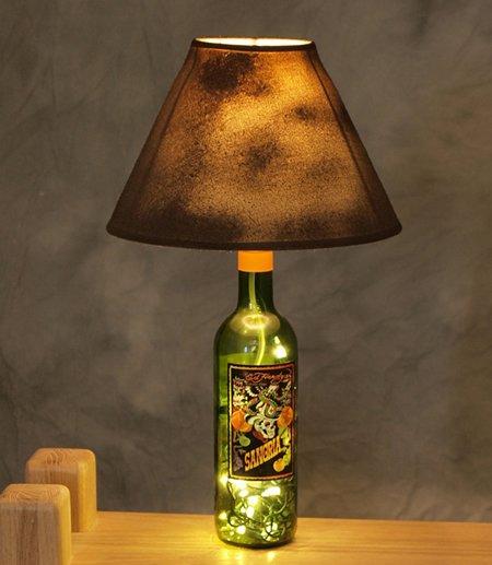 Бутылочный декор: интересно, красиво, экологично - фото 7