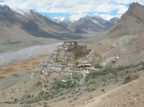 Прекрасный монастырь Ки, Индия