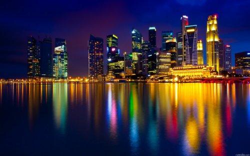 Обои Ночные огни городов (36 шт)