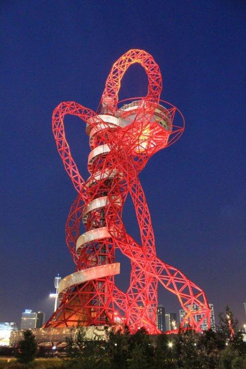 Смотровая башня «ArcelorMittal Orbit» в Лондоне