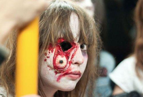 Лучший грим зомби (20 фото)