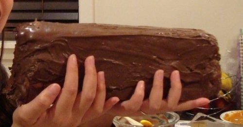 Как приготовить гигантскую шоколадку мечты (12 фото)