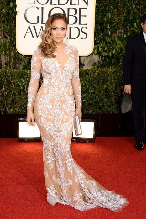 Знаменитости на красной ковровой дорожке Golden Globe 2013