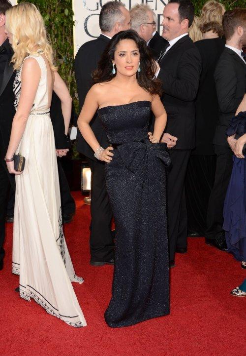 Знаменитости на красной ковровой дорожке Golden Globe 2013 энн хэтэуэй