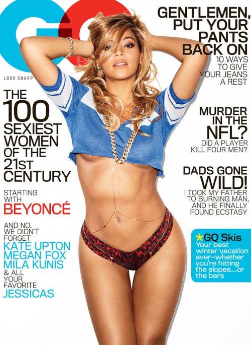 Бейонсе в февральском номере журнала GQ (7 фото)