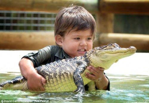 Чарли Паркер – 3-хлетний смотритель парка дикой природы