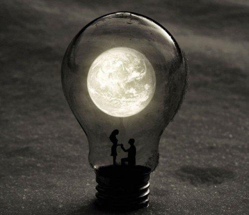 Мир – в лампочке накаливания глазами Адриана Лимани (21 фото)