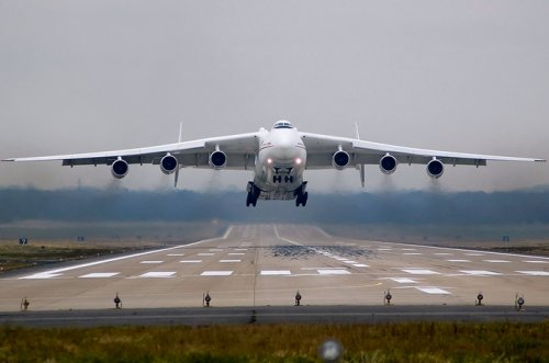 Ан-225 Мрiя – самый крупный самолет за всю историю авиастроения