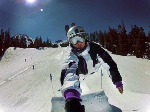 Фотографии, сделанные экстрим-камерой GoPro (20 шт)