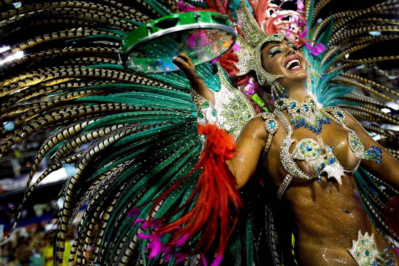 Бразилия карнавал обои на рабочий стол