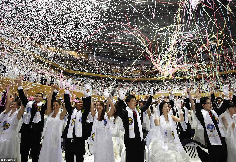 Unification mass wedding