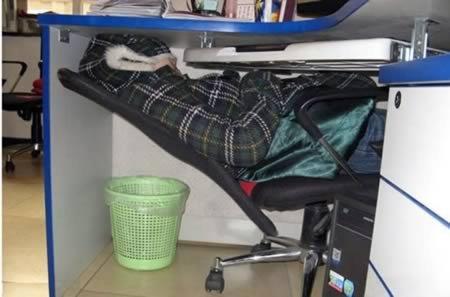 12 Самых смешных людей, которых застали спящими на работе