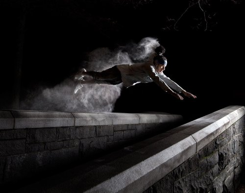 Энергия паркура в фотографиях Бена Франке (10 шт)