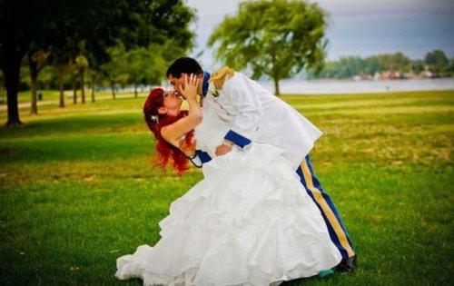 Свадьба в стиле диснеевских мультиков (19 фото)